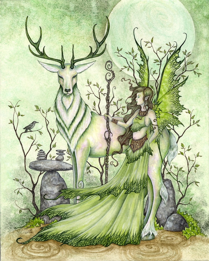 rABC02-Guardian Card (Cards - Amy Brown Yule) at Enchanted Jewelry & Gifts