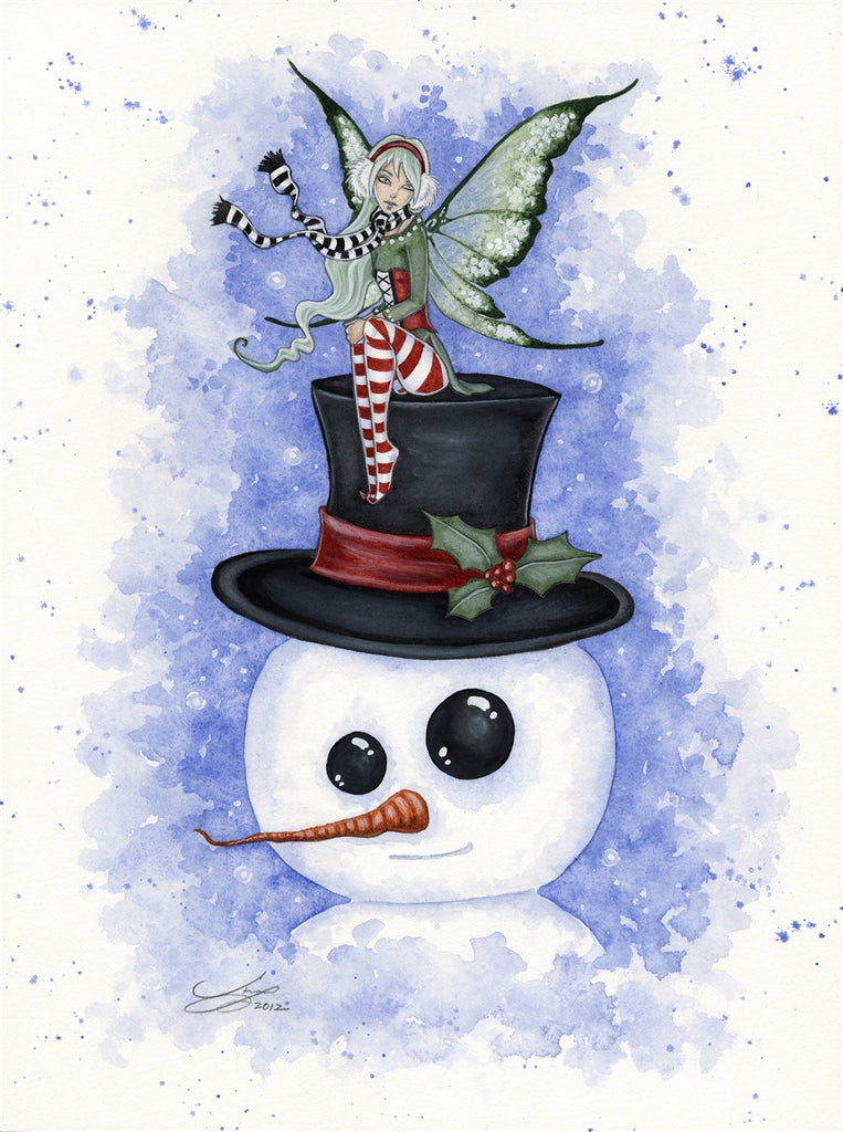rABC04-Frosty Friends Card (Cards - Amy Brown Yule) at Enchanted Jewelry & Gifts