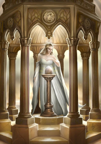 rAN61-The Egg Card by Anne Stokes (Anne Stokes Eastern Promise Cards) at Enchanted Jewelry & Gifts