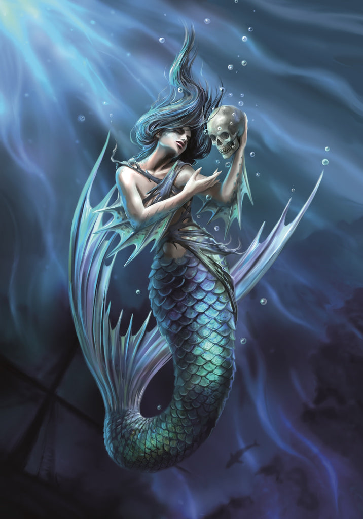 rAN79 - Sailor's Ruin Card by Anne Stokes (Realms Cards) at Enchanted Jewelry & Gifts
