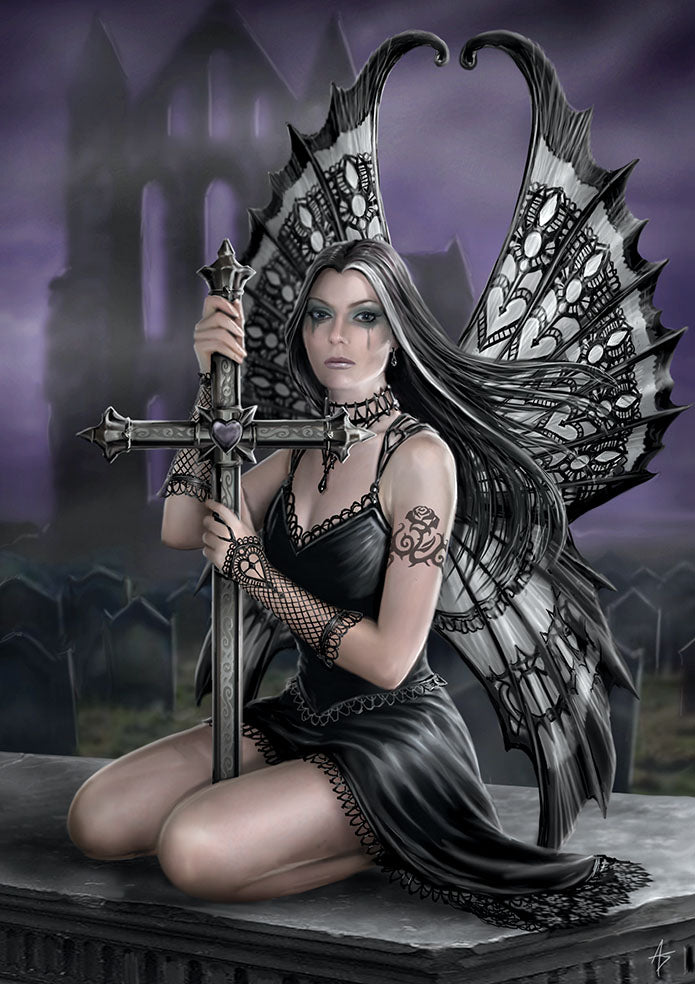 rAN96-Lost Love Card (Realms Cards by Anne Stokes) at Enchanted Jewelry & Gifts