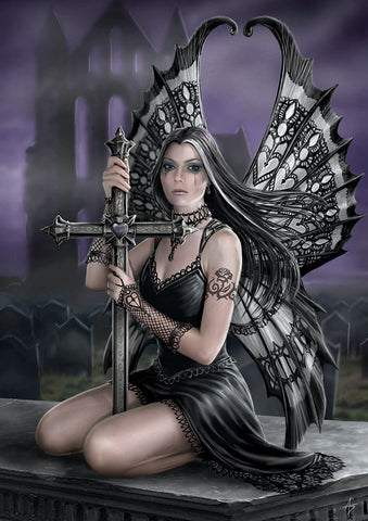 rAN96-Lost Love Card-Realms Cards by Anne Stokes-Enchanted Jewelry & Gifts