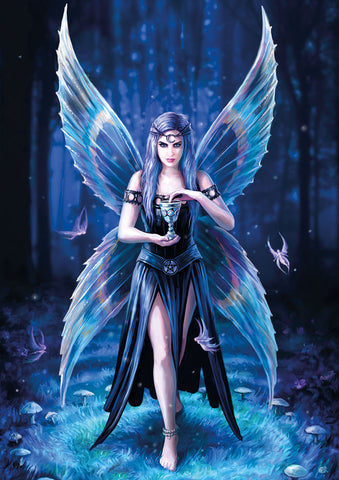 rAN98-Enchantment Card-Realms Cards by Anne Stokes-Enchanted Jewelry & Gifts