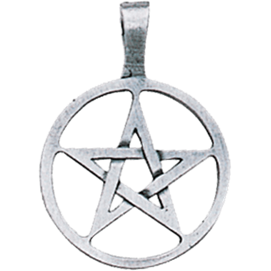 AP60-Ringed Pentagram Pendant for Willpower & Success-Ancient Celtic Symbol Magic-Enchanted Jewelry & Gifts