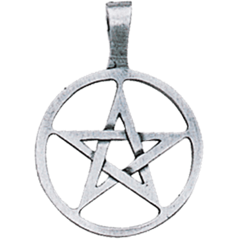 AP60-Ringed Pentagram Pendant for Willpower & Success (Ancient Celtic Symbol Magic) at Enchanted Jewelry & Gifts