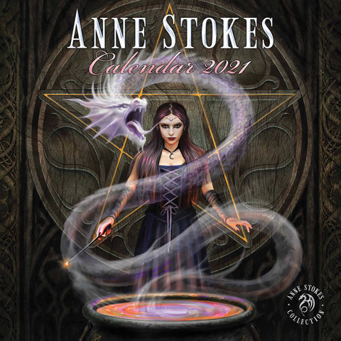 Anne Stokes 2021 Official Calendar