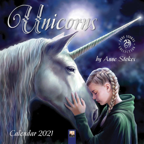 Anne Stokes 2021 Unicorns Calendar