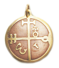 SCB28-Mediaeval Charm for Speedier Achievement of Goals (Key of Solomon Talismans) at Enchanted Jewelry & Gifts