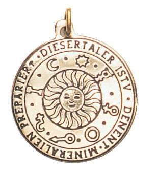 SCB86-Sun Talisman for Wealth, Health, & Happiness (Star Charms) at Enchanted Jewelry & Gifts