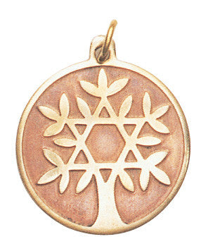 SCB88-Tree of Life Charm for Knowledge and Wisdom-Star Charms-Enchanted Jewelry & Gifts