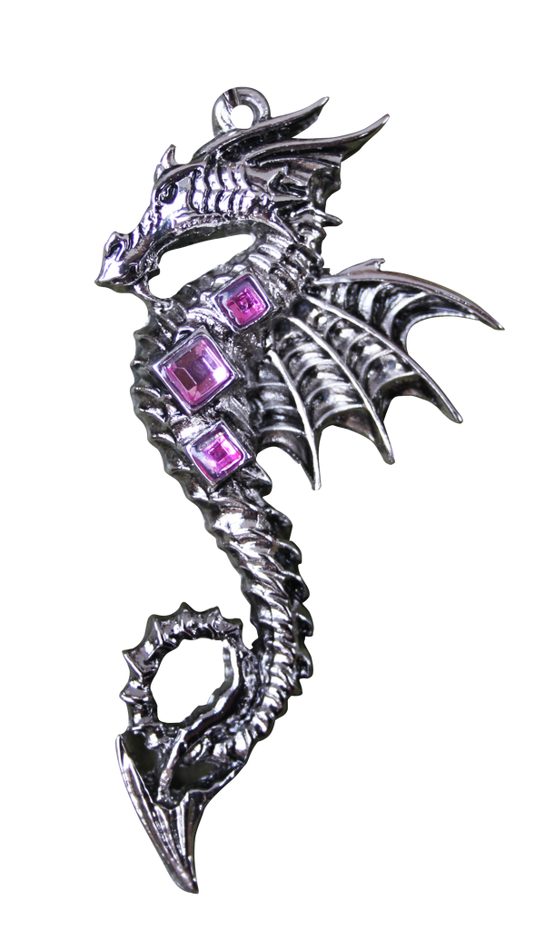 BB07-Sea Dragon for Boundless Creativity Pendant by Briar (Briar Bestiary) at Enchanted Jewelry & Gifts