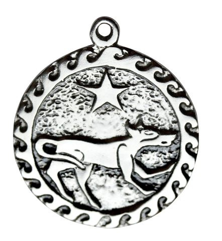BC9-Ser Kai (2 Jul - 24 Jul) Charm to invoke Willpower (Celtic Birth Charms) at Enchanted Jewelry & Gifts