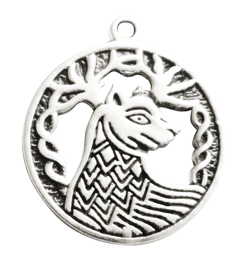 BC12-Alban Elfed (9 Sep - 1 Oct) Charm to invoke Stamina (Celtic Birth Charms) at Enchanted Jewelry & Gifts