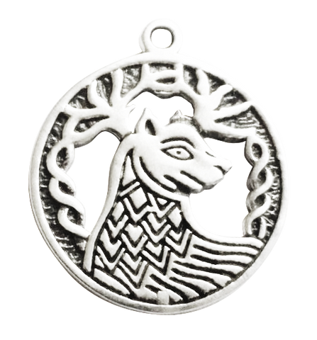 BC12 - Alban Elfed (9 Sep - 1 Oct) Charm to invoke Stamina Celtic Birth Charms at Enchanted Jewelry & Gifts