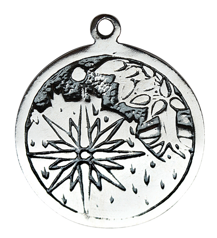BCP07-Sidhe (May 17 - Jun 8) Charm To Invoke Enchantment (Celtic Birth Charms) at Enchanted Jewelry & Gifts