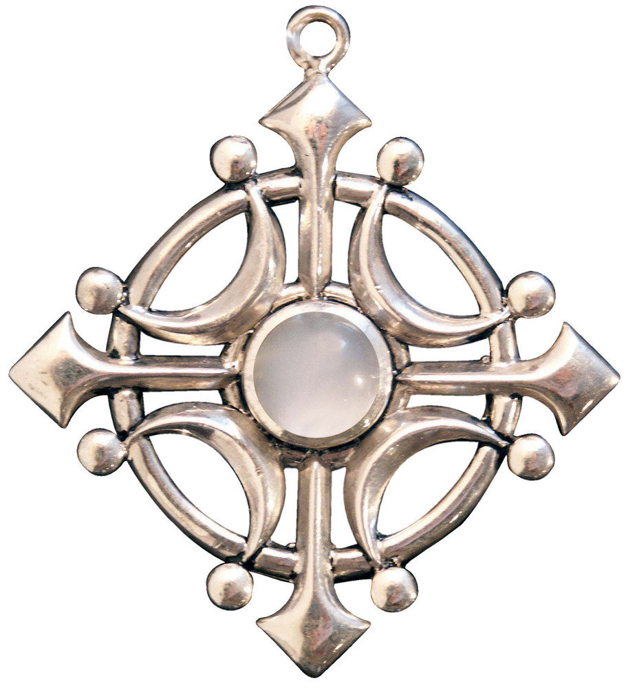 (Product Code: BG03) Selene's Glaive, Moonstone for Intuition, Briar Gemstones - EnchantedJewelry