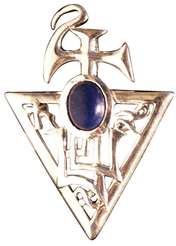 (Product Code: BG04) Sigil of Bether, Lapis Lazuli for Abundance, Briar Gemstones - EnchantedJewelry