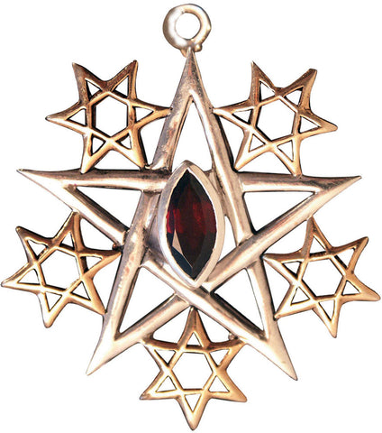 (Product Code: BG15) Quintessence, Garnet for Psychic Insight, Briar Gemstones - EnchantedJewelry