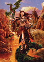 rBM24-Artemis-Briar Fantasy Cards-Enchanted Jewelry & Gifts