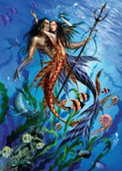 rBM25 - Mer Folk Card by Briar (Fantasy Cards) at Enchanted Jewelry & Gifts