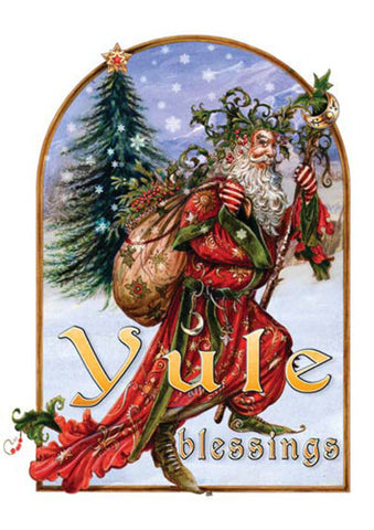 rBY14 - Briar Yule Herne Card by Briar (Mid-winter Yule Cards) at Enchanted Jewelry & Gifts