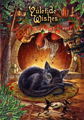 rBY17-T'was the night Before YULE (Briar Yule Cards) at Enchanted Jewelry & Gifts