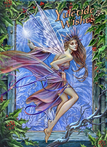 rBY19-Frost Fairy (Briar Yule Cards) at Enchanted Jewelry & Gifts