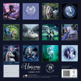 ASCAL20U-Anne Stokes 2020 Unicorn Calendar (Calendars) at Enchanted Jewelry & Gifts