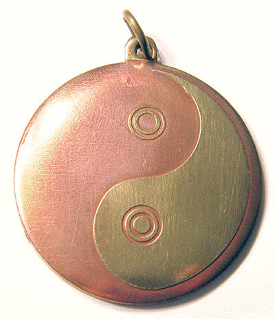 (Product Code: SCC96) Yin Yang for Cosmic Harmony, Key of Solomon Talismans - EnchantedJewelry