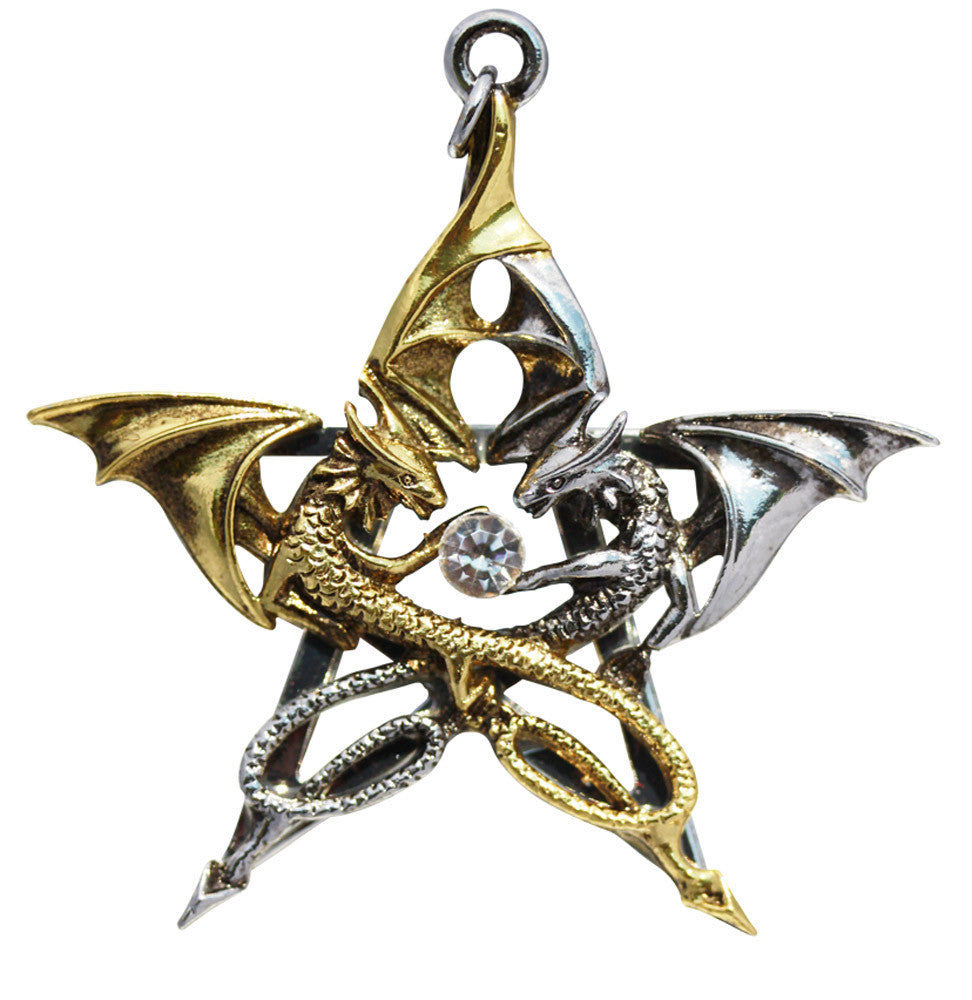 CA03-Draca Stella for Good Fortune by Anne Stokes (Carpe Noctum) at Enchanted Jewelry & Gifts