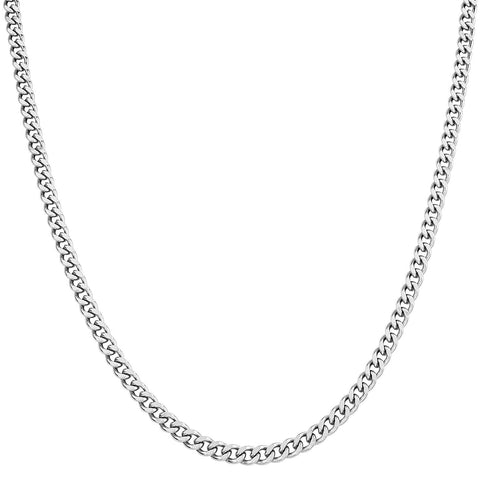"CHLINK4 - 22"" Stainless Steel Curb Link Chain (Chains) at Enchanted Jewelry & Gifts"