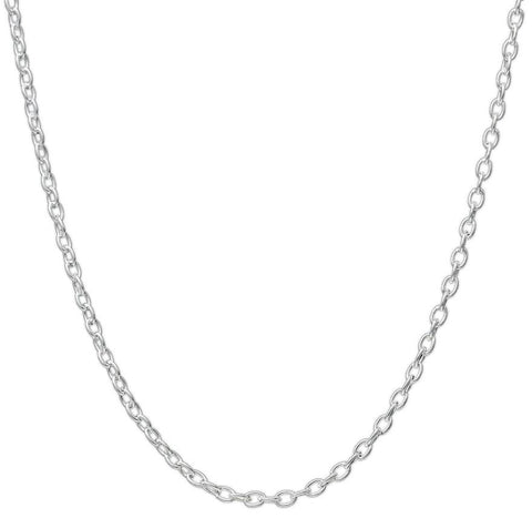 "CHWIDE - 30"" Stainless Steel Cable Link Chain (Chains) at Enchanted Jewelry & Gifts"