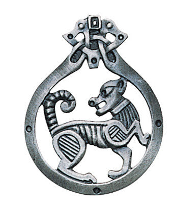 (Product Code: CMP32) Sheiah Dog Pendant for Growth & Development, Ancient Celtic Symbol Magic - EnchantedJewelry