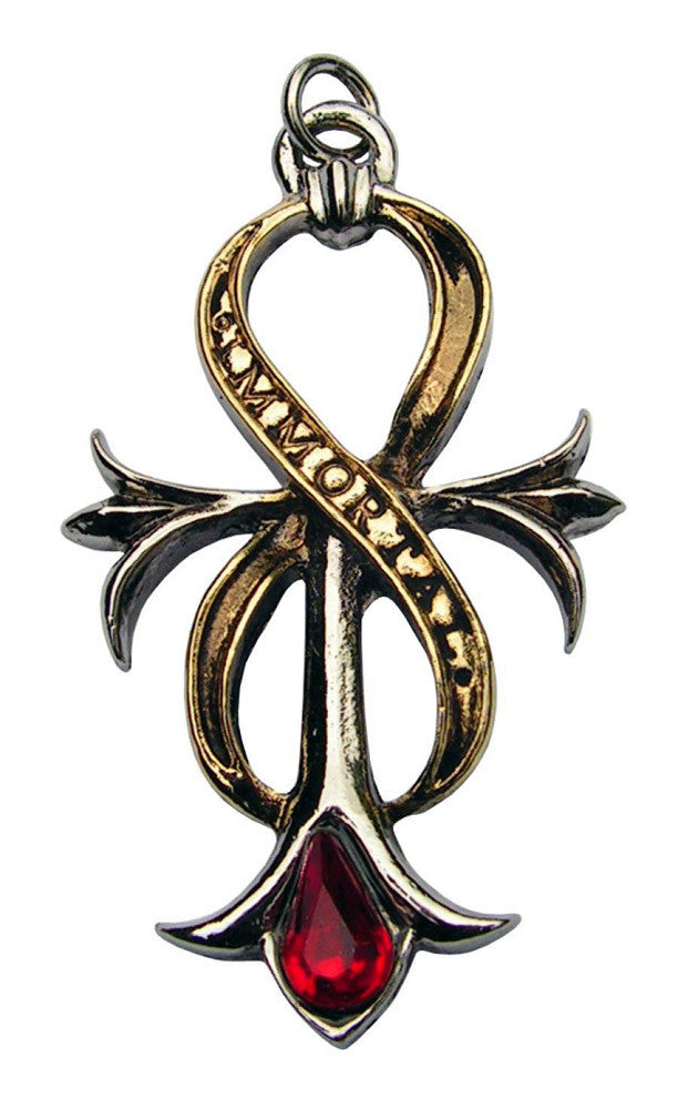 (Product Code: CN03) Ankh of Immortal Infinity for Life, Children of the Night - EnchantedJewelry