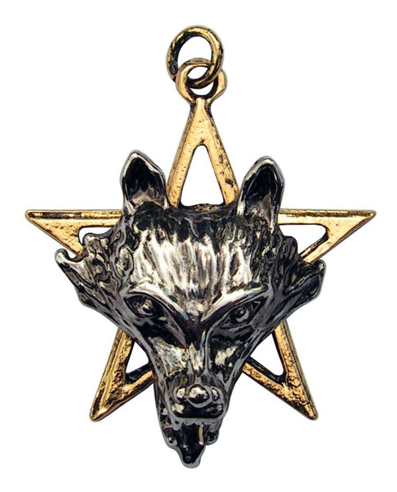 (Product Code: CN07) Night of the Wolf for Power & Wisdom, Children of the Night - EnchantedJewelry