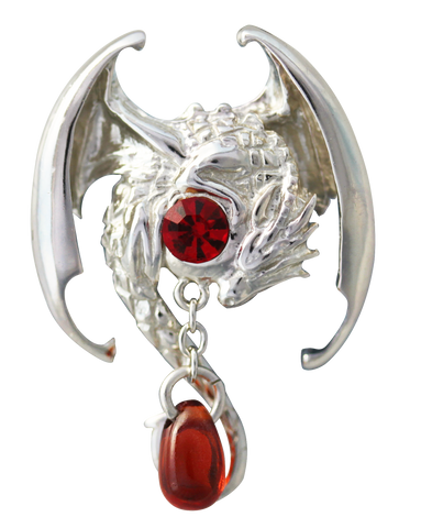 COM01-Fafnir for Wealth & Magic Ability by Anne Stokes-Mythical Companions-Enchanted Jewelry & Gifts