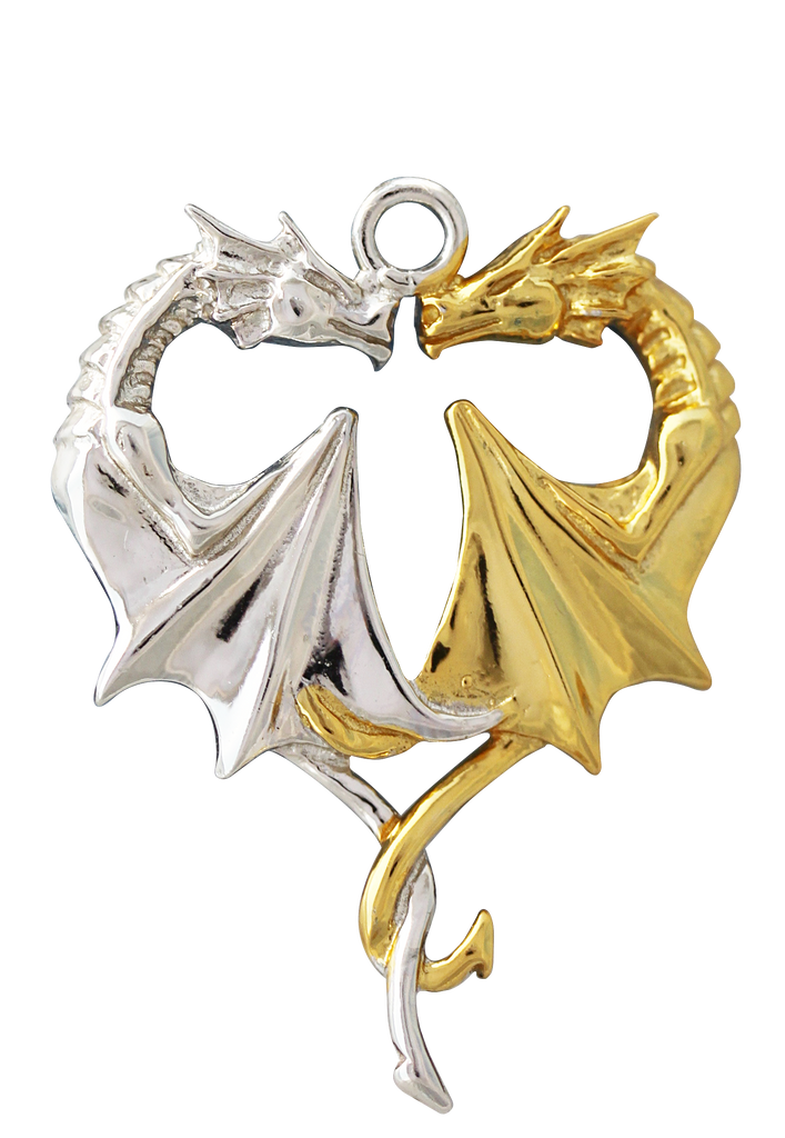 COM02-Dragon Heart for Lasting Love by Anne Stokes (Mythical Companions) at Enchanted Jewelry & Gifts