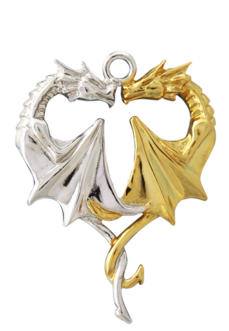 COM02 - Dragon Heart for Lasting Love by Anne Stokes (Mythical Companions) at Enchanted Jewelry & Gifts