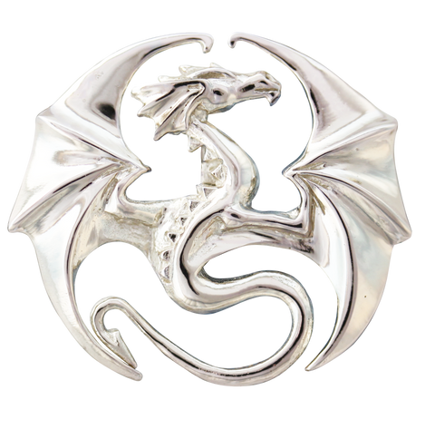 COM06 - Draco for Stability & Progress by Anne Stokes (Mythical Companions) at Enchanted Jewelry & Gifts