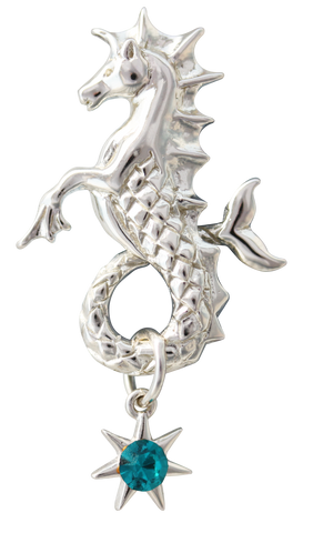 COM07-Poseidon's Steed to Attract Friendship by Anne Stokes-Mythical Companions-Enchanted Jewelry & Gifts