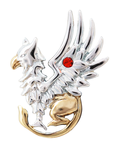 COM11-Griffin's Gift for Good Fortune by Anne Stokes-Mythical Companions-Enchanted Jewelry & Gifts