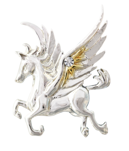 COM12-Pegasus of the Stars for Quick Thought & Creativity by Anne Stokes-Mythical Companions-Enchanted Jewelry & Gifts
