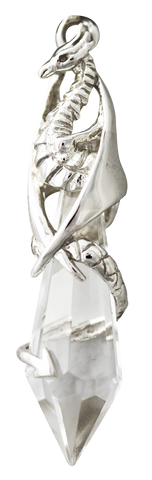 COM13 - Keeper of the Crystal for Healing & Divination by Anne Stokes (Mythical Companions) at Enchanted Jewelry & Gifts