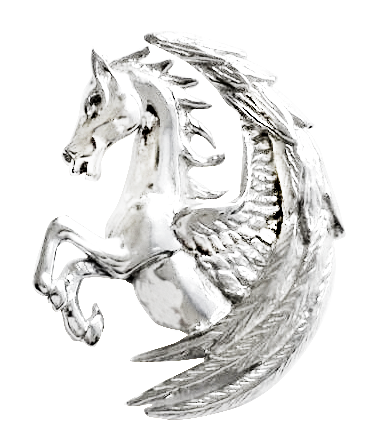 COM14-Pegasus Fortuna for Surmounting Obstacles by Anne Stokes (Mythical Companions) at Enchanted Jewelry & Gifts