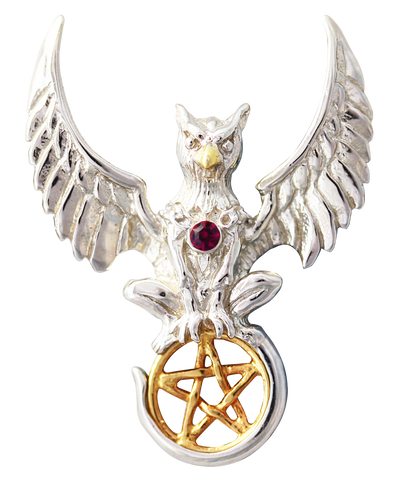COM16 - Griffin of Nemesis for Universal Justice by Anne Stokes (Mythical Companions) at Enchanted Jewelry & Gifts