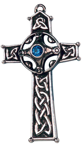 CS11-Ambrosius Cross for Strength & Wisdom-Celtic Sorcery-Enchanted Jewelry & Gifts