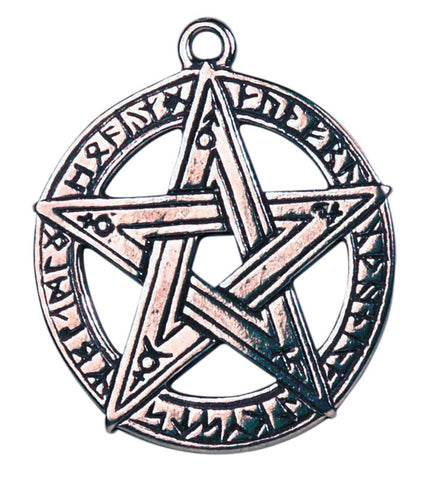 (Product Code: CS12) Runestar Pentagram for Creative Inspiration, Celtic Sorcery - EnchantedJewelry