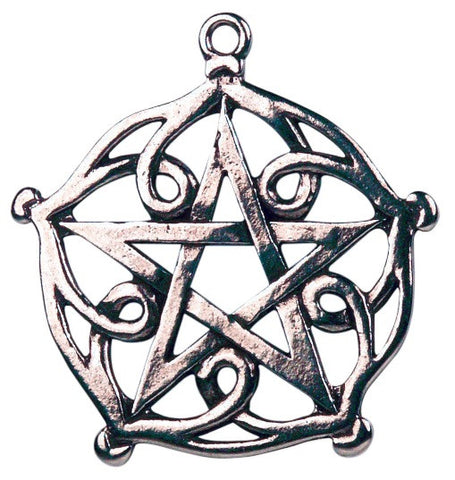 (Product Code: CS2) Pentagram of Brisingamen for Charm & Beauty, Celtic Sorcery - EnchantedJewelry