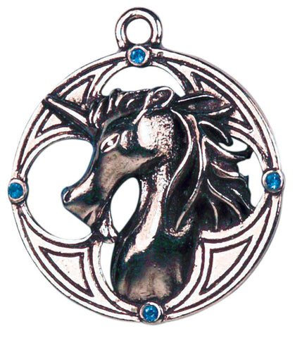 (Product Code: CS6) Plantaganet Unicorn for Protection & Prosperity, Celtic Sorcery - EnchantedJewelry
