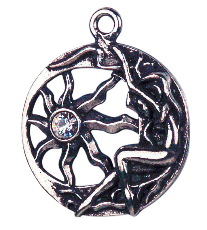 CS7-Brigit's Sun Charm for Inner Light (Celtic Sorcery) at Enchanted Jewelry & Gifts